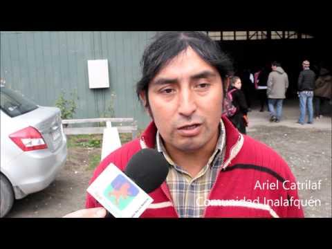 Nueva marcha en Neltume revitaliza rechazo a proyecto de Endesa