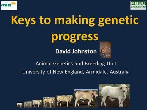 Keys to making genetic progress