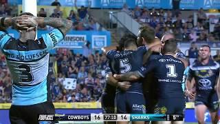 NRL Highlights: North Queensland Cowboys v Cronulla Sharks - Round 1