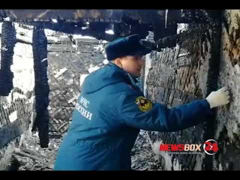 В Партизанске в результате страшного пожара погибли трое детей