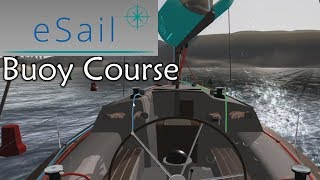 Realsail sailing game competing