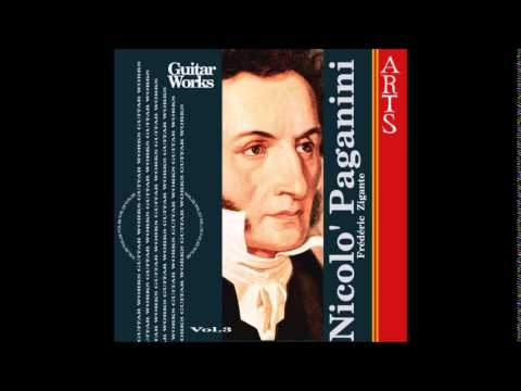 Niccolò Paganini - Guitar Works Vol. 3 - Frédéric Zigante [full album]