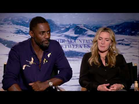 The Mountain Between Us Interviews: Idris Elba & Kate Winslet