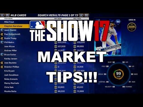 MLB 17 DIAMOND DYNASTY MARKET TIPS!! HOW TO MAKE STUBS!! MLB 17