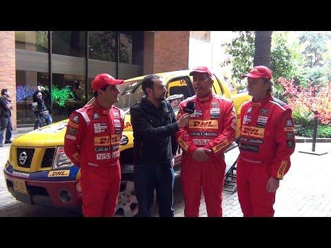 Presentación Oficial Equipo Rally Dakar Café de Colombia - Nissan 2015