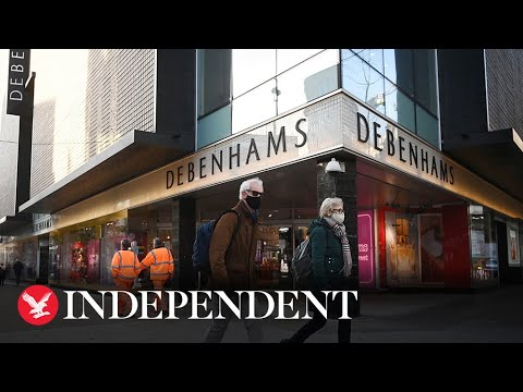 Debenhams to shut putting 12,000 jobs at risk after Arcadia collapse
