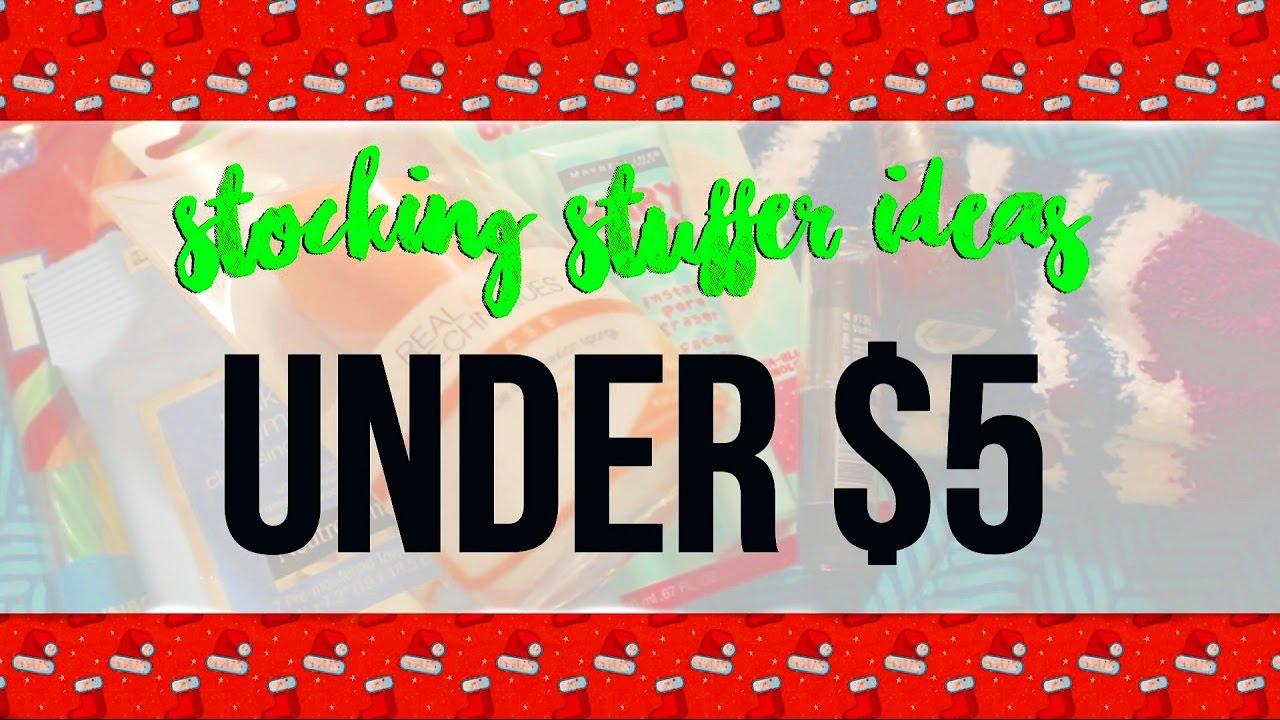Stocking Stuffer Ideas Under 5 Youtube