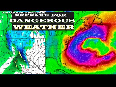200+  Million in Danger -  Freak Storms & Flooding ahead for USA & Canada & Europe