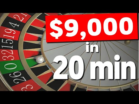 Winning Roulette Strategy! (Huge WIN!)