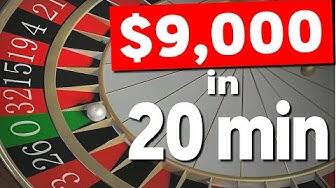Winning Roulette Strategy! (Huge WIN!)