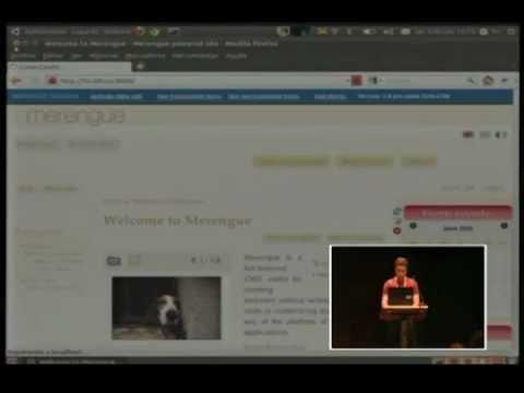 Merengue talk at DjangoCon Europe 2011
