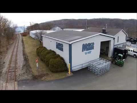 Merco Marine Plant Aerial Tour