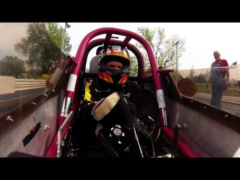 In-car Camera on J-GO Racing Rear Engine Dragster