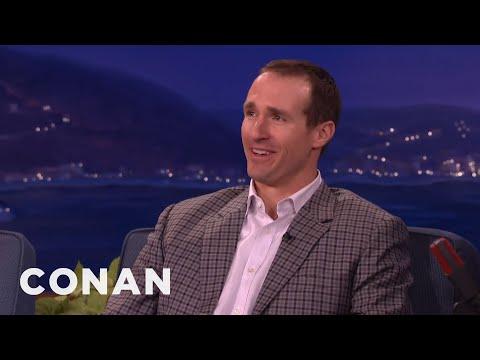 Drew Brees' Super Bowl Predictions  - CONAN on TBS