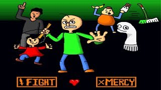 Baldi Battle in Undertale Full Version Gameplay
