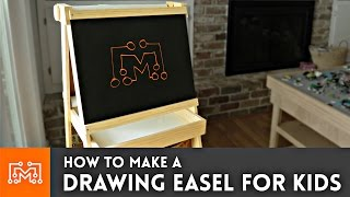Check out how I made a drawing easel for my kids with a chalkboard, whiteboard and paper roll! Subscribe to my channel: http://bit.