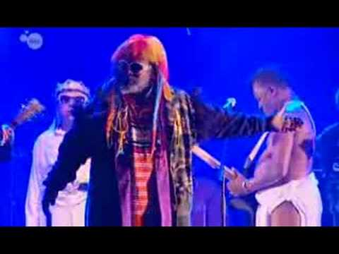 George Clinton on the Belgium Television Channel ONE