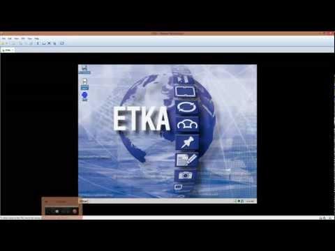 ETKA on Windows 2000 VMWare - Engine OBD2 Software for VW SEAT Skoda Audi Engine Diagnostics