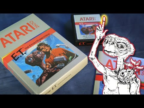 Atari's E.T. Is (Slightly) Better If You Read The Manual - Complete In Box