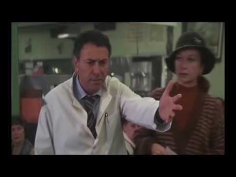 The Inlaws 1979 Alan Arkin & Peter Falk, cafeteria