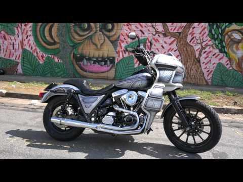 Hot Harley FXR Club Bike