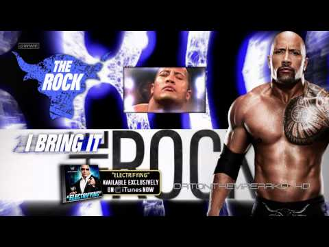 WWE Dwayne The Rock Johnson Theme Song 2012  2013: Electrifying with Download Link