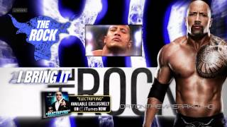 "WWE Dwayne ""The Rock"" Johnson Theme Song 2012 - 2013: ""Electrifying"" with Download Link"
