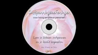 HSP CD Ontspanningsoefeningen voor hoogsensitieve personen sample, door Femke de Grijs