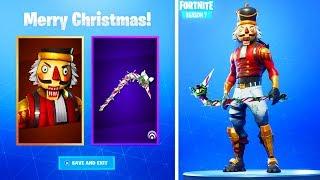 The OG Fortnite CRACKSHOT SKIN! (Fortnite Christmas Skins Coming Back)