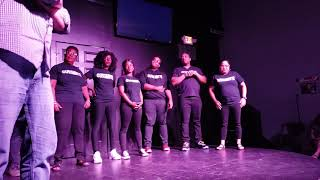 Lemon Pepper and Sazon at Sketchmeggedon 1 June 2019 at Push Comedy Theater