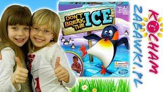 Nie połam lodu • Sprytny pingwinek kontra Nadie • Hasbro Gaming • gry dla dzieci