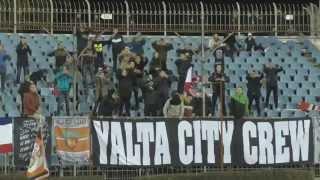 «ТСК-Таврия» — «Рубин Ялта» 2:2: Ультрас, болелы и футбол