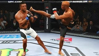 EA Sports UFC 2 - ANDERSON SILVA vs VITOR BELFORT (Gameplay PS4/Xbox One)