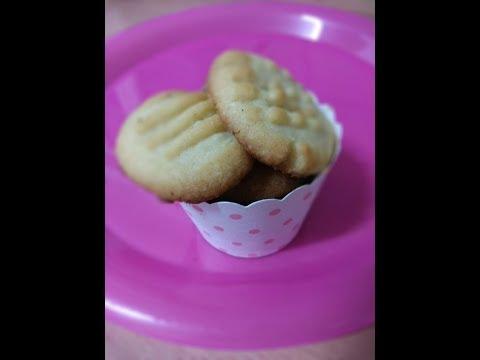 5 minute cookie | Easy and quick cookies | 3 ingredient sugar cookies