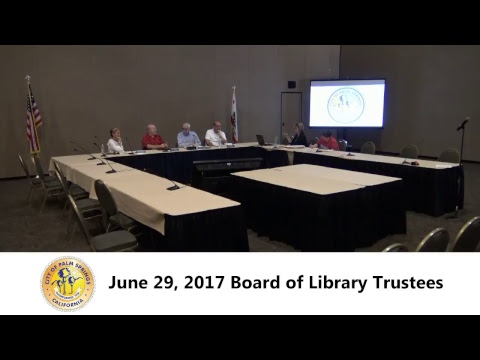 Board of Library Trustees | June 29, 2017