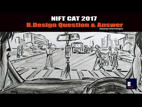 NIFT CAT 2017 - B.Design Question & Answer