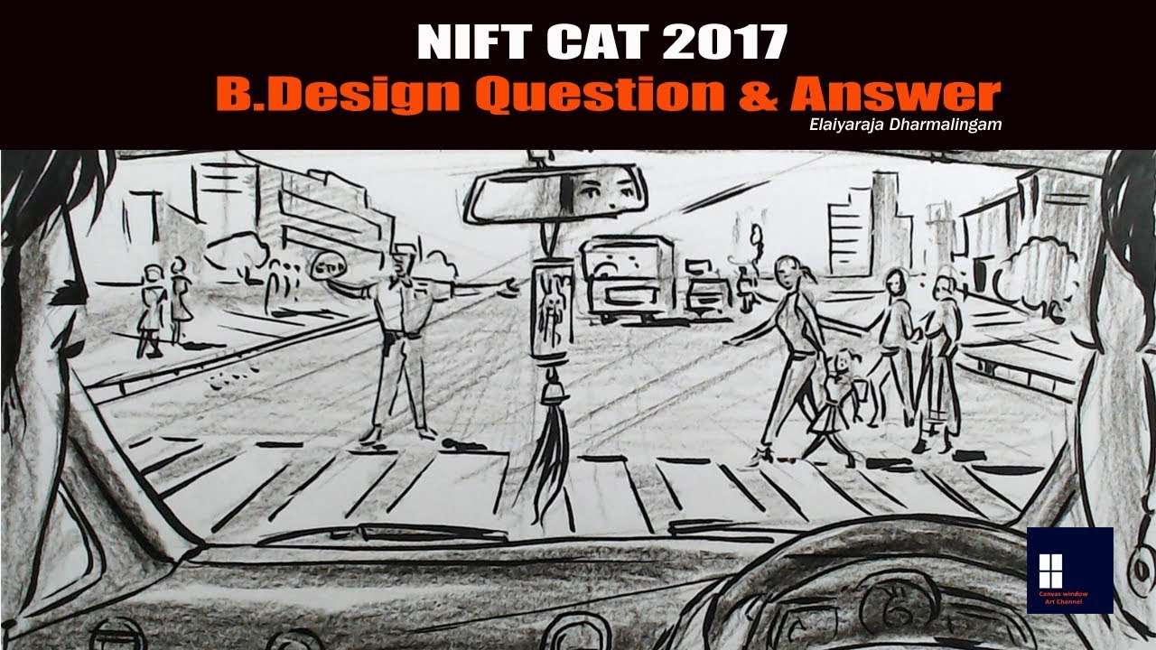 Nift Cat 2017 B Design Question Answer Youtube