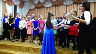 Отчетный концерт фортепианного отделения 2018 год январь