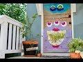 How To Make a Monster Mash Door Decoration for Under $10