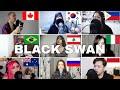Who Sang It Better : BTS (방탄소년단) 'Black Swan'(canada,brazil,russia,australoa,lebanon )