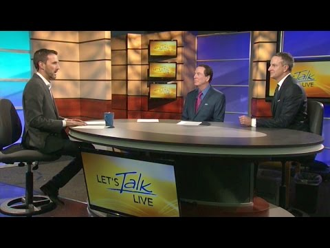 Plastic Surgeons Dr. Weston and Dr. Knotts on Let's Talk LIVE