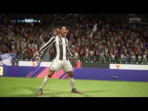 C.Ronaldo vs Real Madrid - Gameplay Nouveaux Maillots 2019 FIFA 18