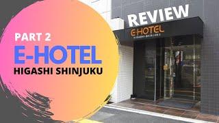 E-Hotel Higashi Shinjuku, Tokyo (Standard Double Room)