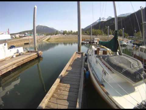 Skagway, Alaska - afternoon harbor activity