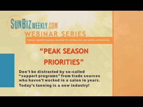 Webinar: Free Tanning Salon Training - Sun Biz Weekly