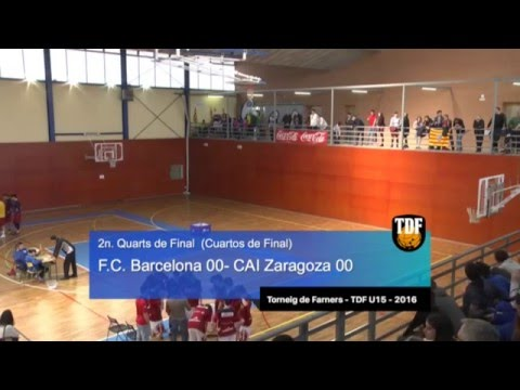 Highlights David Corrales vs Barça (Torneig Farners U15 2016)
