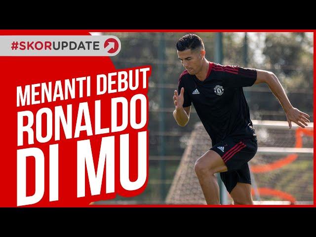 Menanti Debut Ronaldo saat laga Manchester United vs Newcastle United