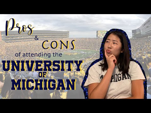 UMICH PROS and CONS