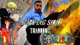 Black Leg Sanji Training | One Piece Tough Like The Toonz: EP 33