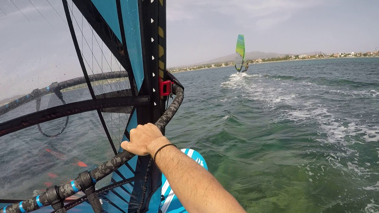 Windsurfing nissakia greece